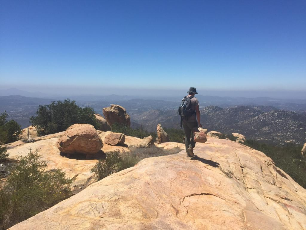We spent many hours hiking throughout much of San Diego County in our efforts to conserve our rarest plant species and help end extinction.