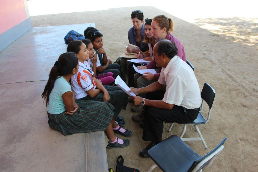 An interview with a group of enthusiastic 5th graders.