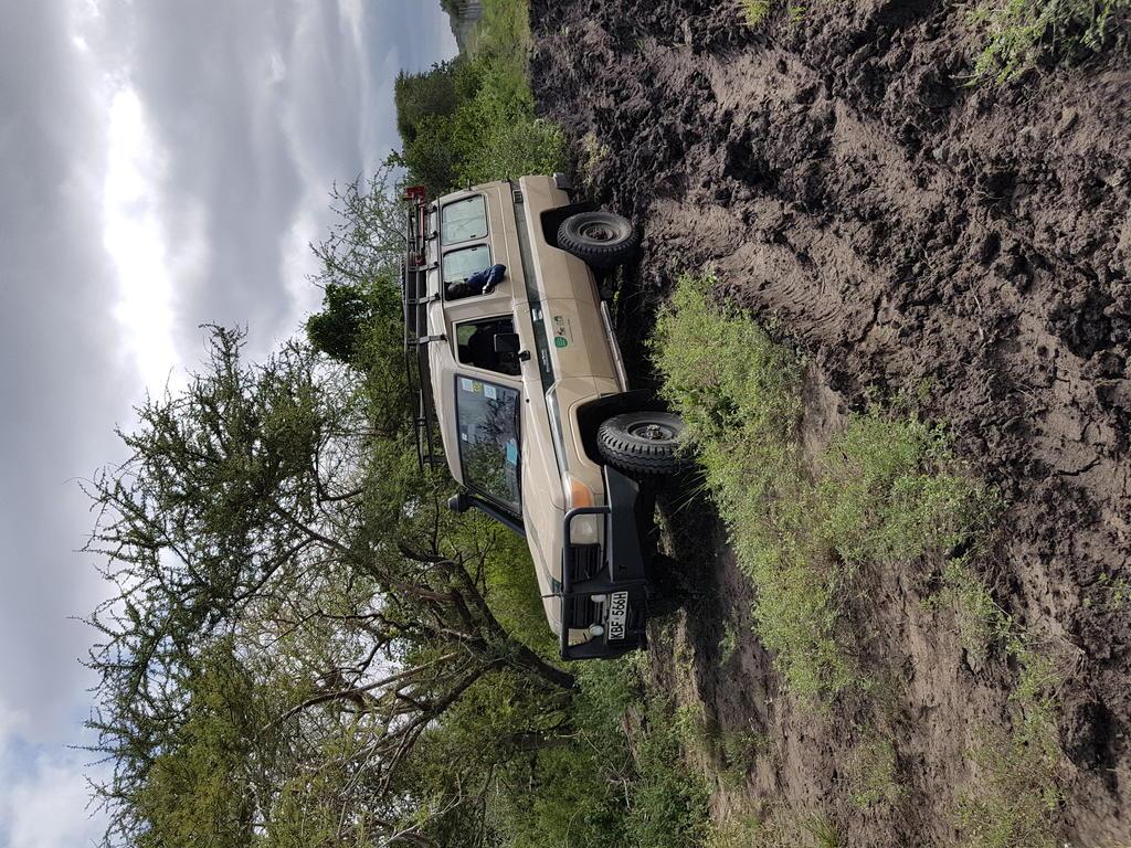 Black cotton soil can be a nightmare, especially during the rainy season, but a 4x4 land cruiser navigates the terrain so well.