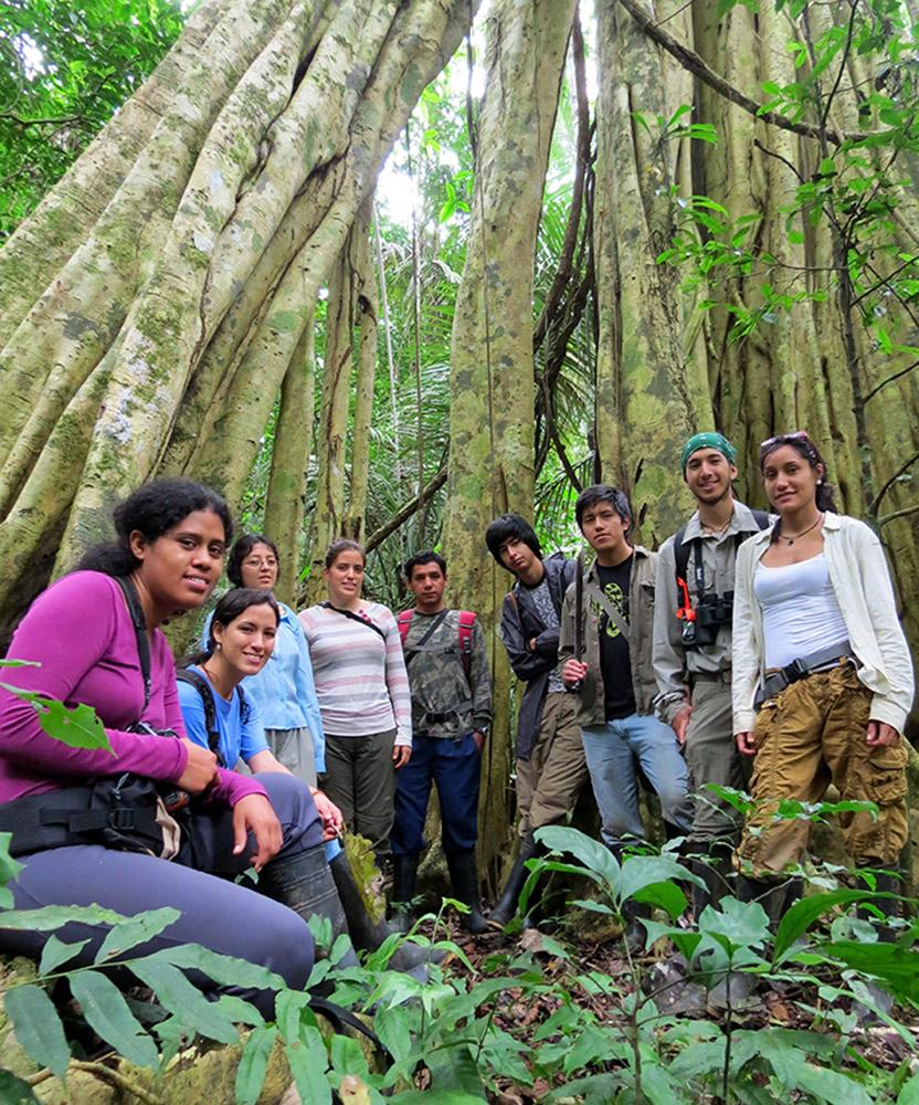 The enthusiastic participants of the first-ever Tropical Ecology and Field Techniques course held in 2013—where are they now?