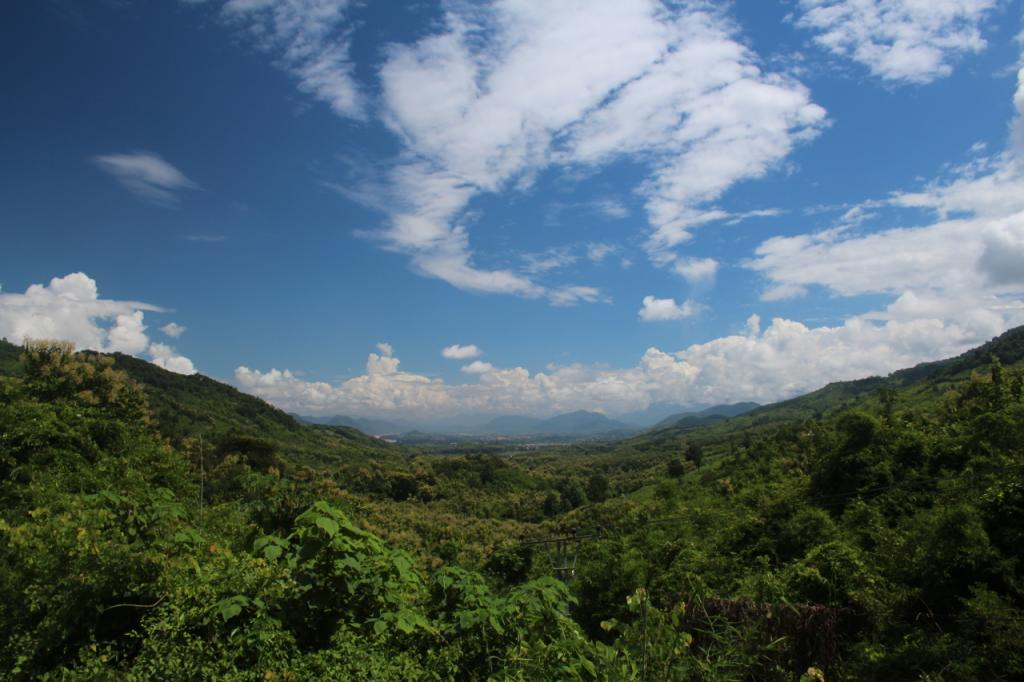 Panoramic view of a SDZG field site in Laos (picture: David O'Connor, SDZG).