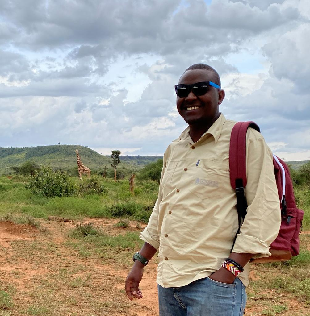 On Loisaba Conservancy in March 2020 before the new regulations in Kenya.