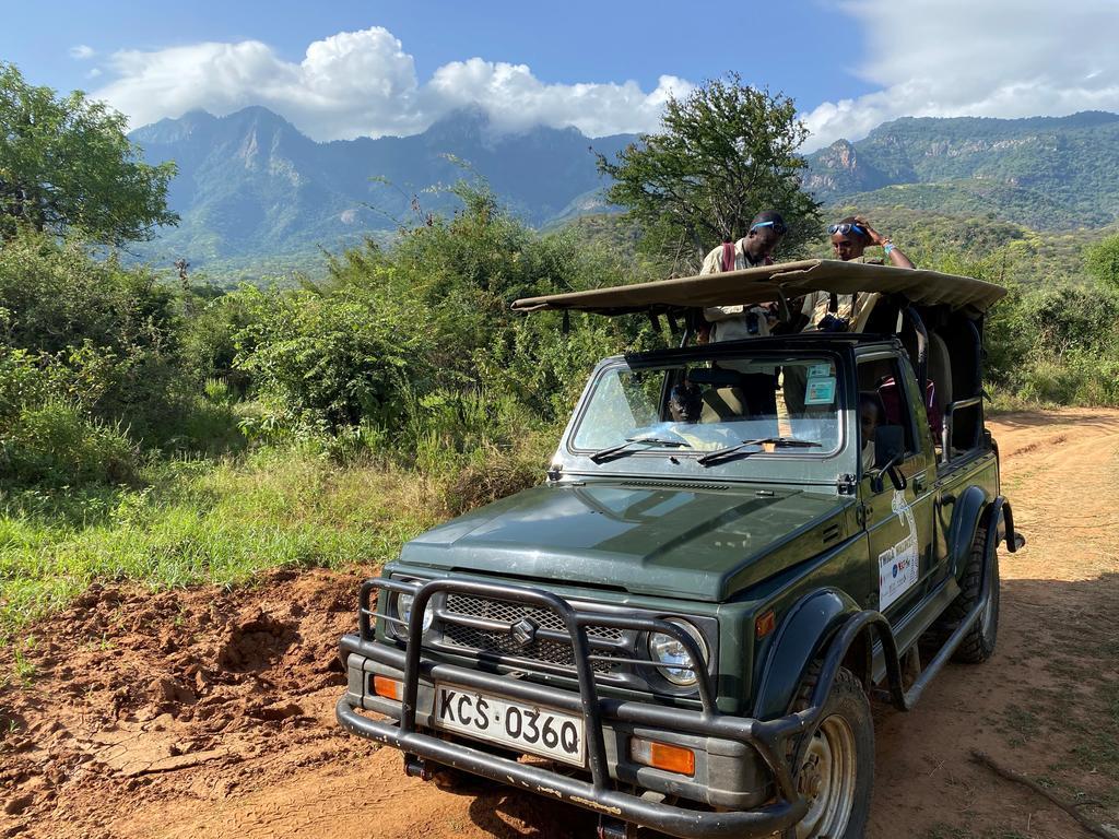 The second, and highly anticipated, Twiga Walinzi vehicle, the Suzuki Maruti.