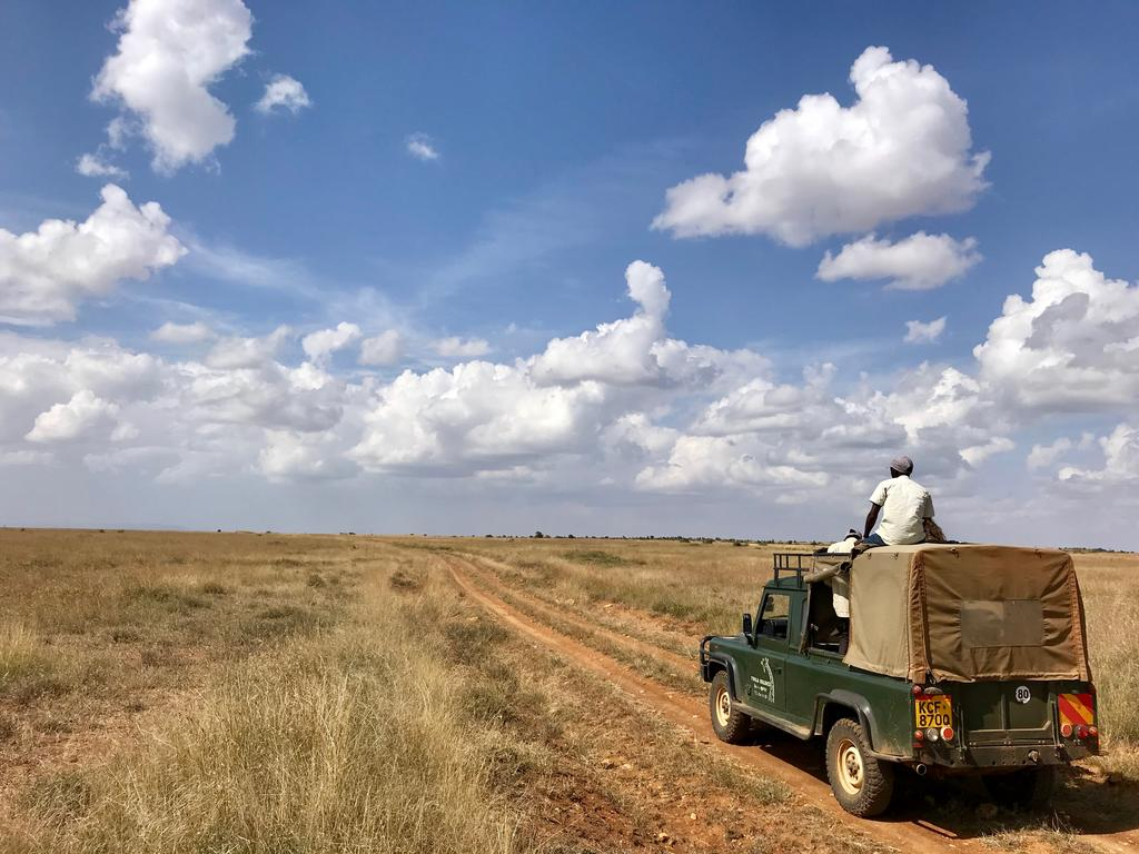 The first Twiga Walinzi vehicle, the Land Cruiser.