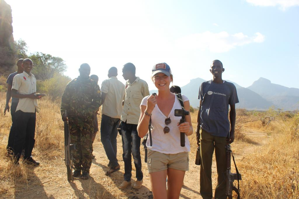 Field work team in northern Kenya.