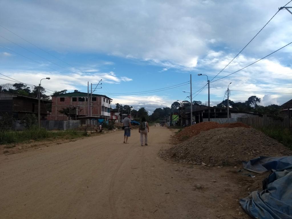 The community of Tres Islas. (Photo by Berenice Mendoza)