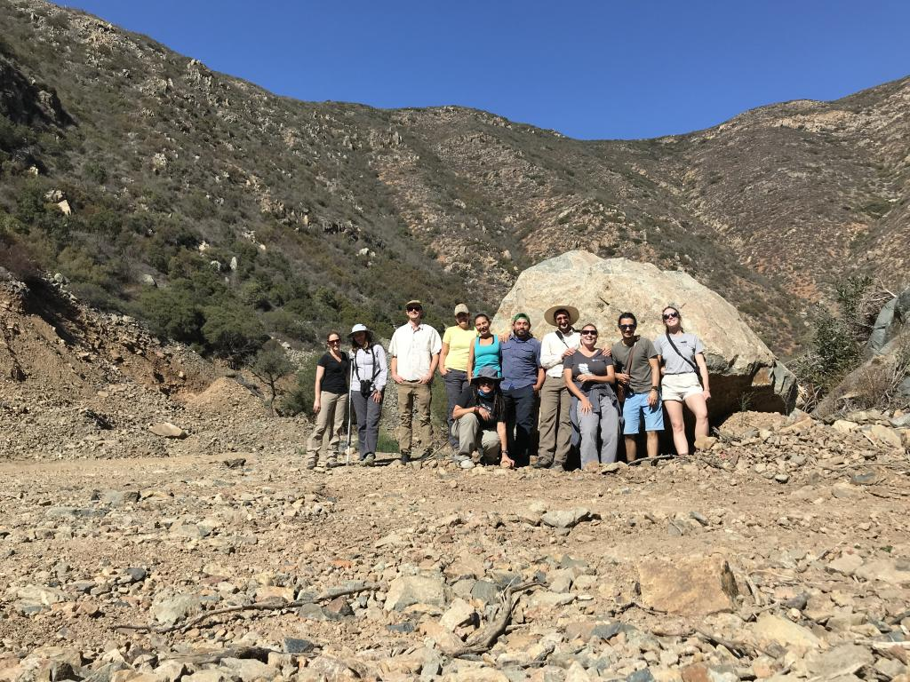 Staff and volunteers from both sides of the border came together to find this rare plant species in a forgotten area of its range.