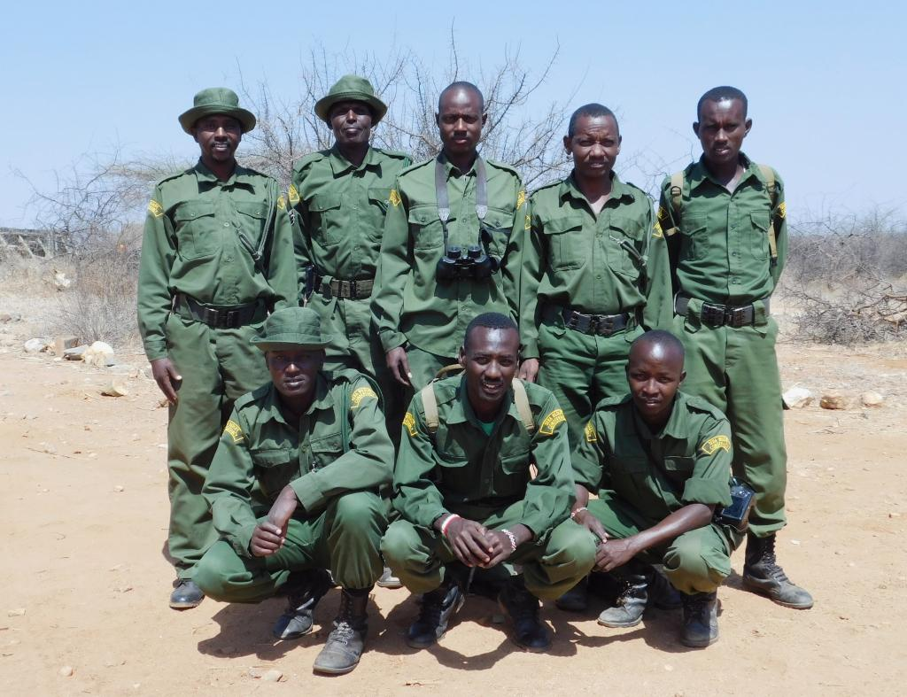 Rangers are an integral element to the protection of Sera's rhinos.