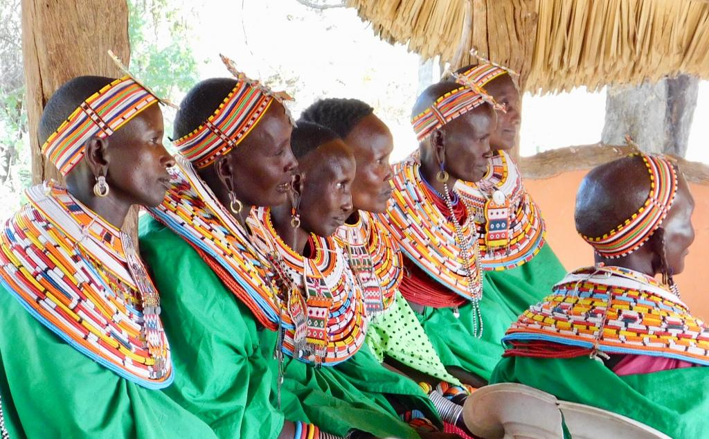 Westgate women at a meeting at headquarters.
