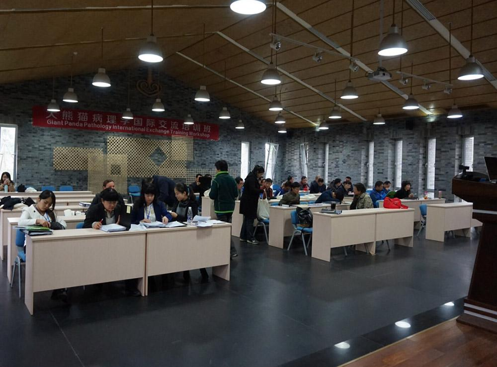 The beautiful facility was just the right venue for participants to sharpen their necropsy skills.